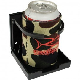 Drink holder folding universal adjustable arms to fit any size drink