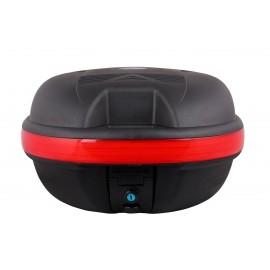Trunk Box Universal mounts to any rear rack of ebike.  Ebike Pros, Daymak, Emmo, Tao Tao, Gio