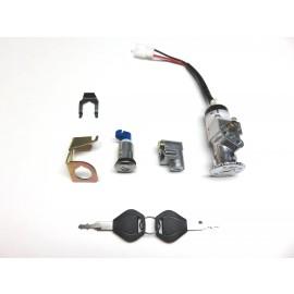 Ignition Lock And Key Set  Ebike Pros Freedom, Rush, Gio Pb710  Gio italia, Daymak, Emmo, Tao Tao and Universal