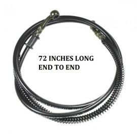 Brake line rear hose 72 inches