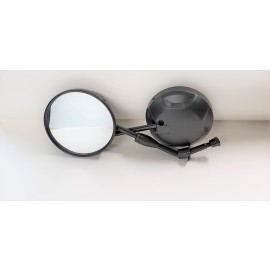 Mirror Set - for Force Black - Universal For Ebike Pros, Daymak, Emmo,Tao Tao, Gio and all other makes and models 8mm universal thread ebike mirror