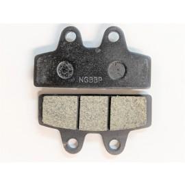 Gemini Brake pads Gemini and universal - (7.06mm) black