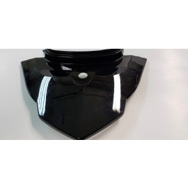 Gemini - Front Fairing with Voltage Stamp Mount (BLACK)