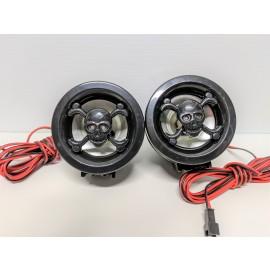 Speaker 2.5 Inch Skull with light in eyes Speaker upgrade ONLY, (Stereo/MP3 NOT included)