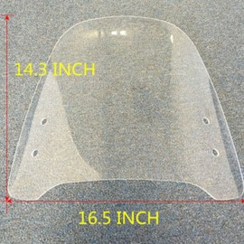 WINDSHIELD UNIVERSAL FOR ANY MAKE OR MODEL OF EBIKE